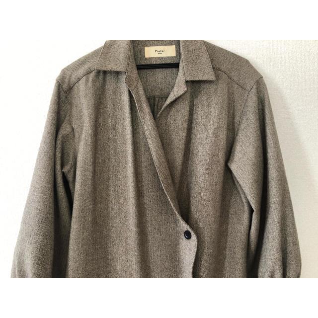 SHIPS(シップス)のSHIPS plefer トレンチコート レディースのジャケット/アウター(トレンチコート)の商品写真