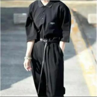 サンシー(SUNSEA)のessay エッセイ ビッグポロシャツ 半袖 Tシャツ(ポロシャツ)