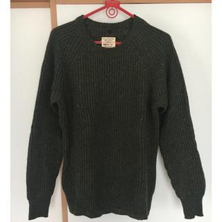 ムジルシリョウヒン(MUJI (無印良品))の畦編みセーター(ニット/セーター)