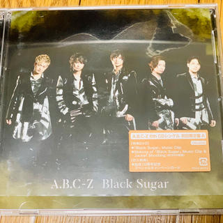 エービーシーズィー(A.B.C.-Z)のBlack Sugar 初回限定盤 A(ポップス/ロック(邦楽))