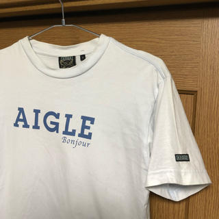 エーグル(AIGLE)のAIGLE   半袖 カラーTシャツ  【 S 】 古着   エーグル(Tシャツ/カットソー(半袖/袖なし))