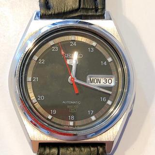 セイコー(SEIKO)の腕時計 SEIKO セイコー5 人気の黒(腕時計(アナログ))