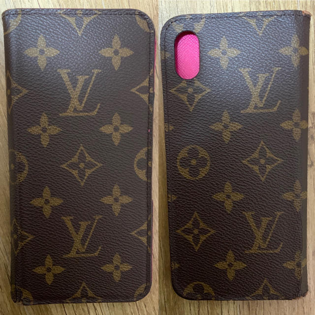 iphone8 ケース 手帳 型 赤 、 LOUIS VUITTON - ルイヴィトン-iPhone XS Maxの通販