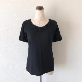 アクシーズファム(axes femme)の未使用品◎  黒  feminine  tops(Tシャツ(半袖/袖なし))