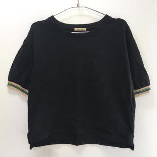 ローズバッド(ROSE BUD)のROSE BUD:黒Tシャツ(Tシャツ(半袖/袖なし))