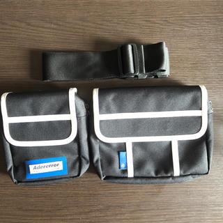 メゾンキツネ(MAISON KITSUNE')のADERERROR Twin fanny pack  ウエストバッグ(ボディーバッグ)