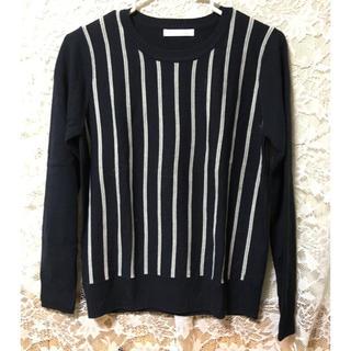 チャオパニックティピー(CIAOPANIC TYPY)のストライプ柄 ニット セーター(ニット/セーター)
