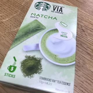 スターバックスコーヒー(Starbucks Coffee)のスターバックス ヴィア® ティーエッセンス 抹茶(その他)