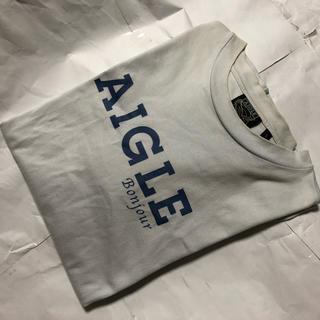 エーグル(AIGLE)のAIGLE     半袖 カラー  Tシャツ  【 S 】 古着(Tシャツ/カットソー(半袖/袖なし))