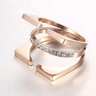 ロンハーマン(Ron Herman)のリング 7号サイズ k18ピンクゴールド メッキ 新品未使用(リング(指輪))
