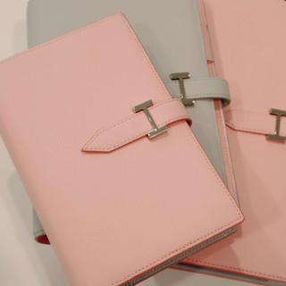 フランクリンプランナー(Franklin Planner)の【限定品】ピンク×アイスグレー手帳(その他)