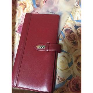 バーバリー(BURBERRY)のBurberry 手帳カバー 百貨店で購入(手帳)