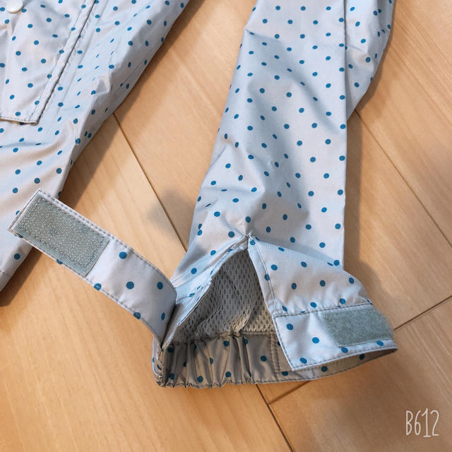 ベルメゾン(ベルメゾン)のベルメゾン ドット レインコート カッパ レディースのファッション小物(レインコート)の商品写真