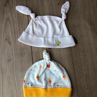 コムサイズム(COMME CA ISM)のプーさん ポケモン 赤ちゃん 帽子(その他)