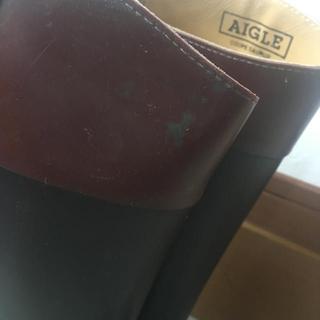 エーグル(AIGLE)のエーグル 乗馬ブーツ レインブーツ 37㎝(レインブーツ/長靴)
