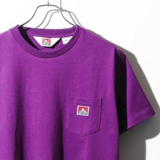ベンデイビス(BEN DAVIS)のBEN DAVIS パープルTシャツ(Tシャツ/カットソー(半袖/袖なし))