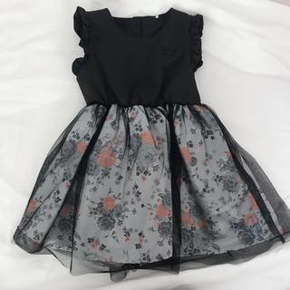 プティマイン(petit main)の【 新品 未使用】95cm ドレス ワンピース フォーマル 発表会 結婚式(ドレス/フォーマル)