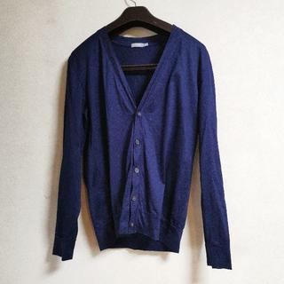 SUNSPEL - SUNSPEL サンスペル カーディガン 高級綿仕様 日本製 国内正規品 紺