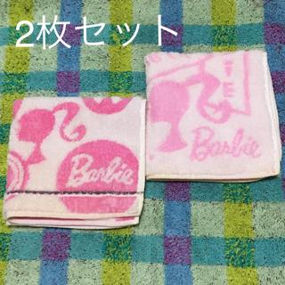 Barbie - バービー タオルハンカチ2枚