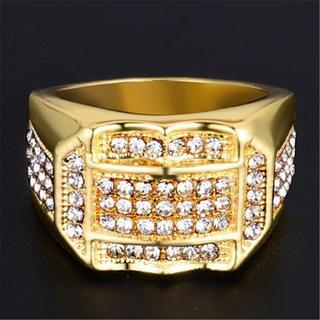PROK18YGFダイヤモンドの指輪メンズ(リング(指輪))