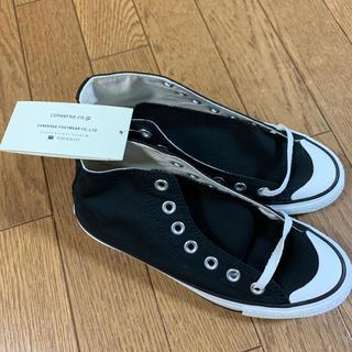 コンバース(CONVERSE)のconverse athletic shoes 黒(スニーカー)