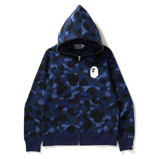 アベイシングエイプ(A BATHING APE)のA BATHING APE COLOR CAMO FULL ZIP HOODIE(パーカー)