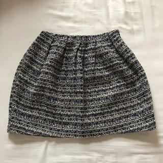 スピックアンドスパン(Spick and Span)のスピックアンドスパン ツイード スカート(ミニスカート)