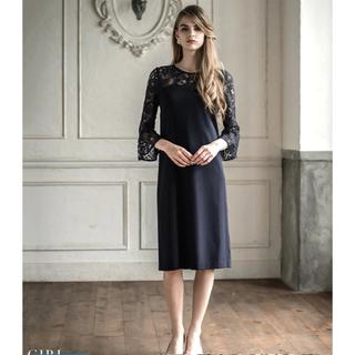 ガール(GIRL)のGIRL ドレス 黒(ひざ丈ワンピース)