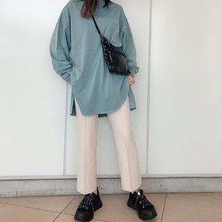 ジーナシス(JEANASIS)のjeanasis シャツテイルBIGロンT(Tシャツ(長袖/七分))