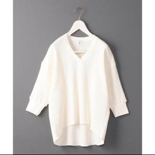 ビューティアンドユースユナイテッドアローズ(BEAUTY&YOUTH UNITED ARROWS)のroku 6 ロク Vネックサマール(Tシャツ(半袖/袖なし))