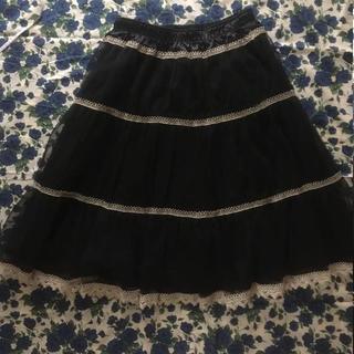 ジェーンマープル(JaneMarple)のジェーンマープル チュールスカート(ひざ丈スカート)