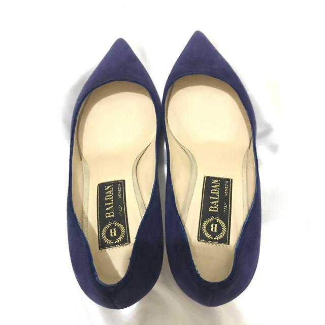 GRACE CONTINENTAL(グレースコンチネンタル)の今週末まで値引き 美品 定価48600 BALDANのスウェードパンプス レディースの靴/シューズ(ハイヒール/パンプス)の商品写真