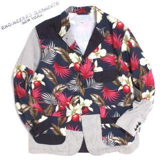 エンジニアードガーメンツ(Engineered Garments)の19ss Loiter Jacket Hawaiian Floral Java (テーラードジャケット)