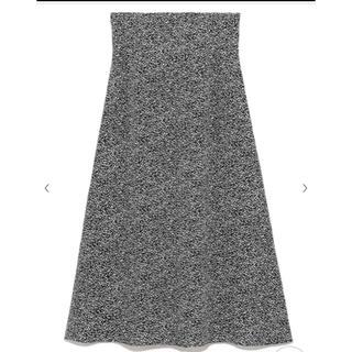 フレイアイディー(FRAY I.D)の2019 frayid アニマルドットプリントスカート(ロングスカート)