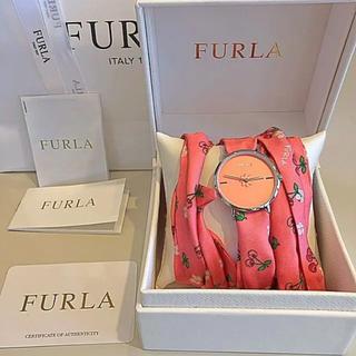 Furla - 正規品 FURLA フルラ  ✨ スカーフベルト腕時計   プレゼントにも♪