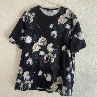 ラッドミュージシャン(LAD MUSICIAN)のLAD MUSICIAN ラッドミュージシャン 花柄Tシャツ(シャツ)