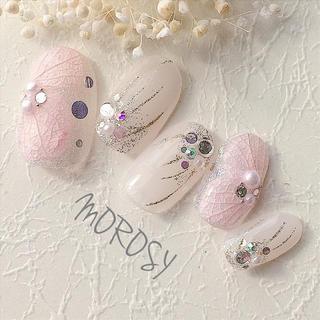 送料込MOROSY106☆ドライフラワー 紫陽花 ブライダル ウェディングネイル