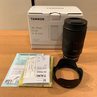 タムロン(TAMRON)の新同品 TAMRON タムロン A036 28-75mm F2.8 (レンズ(ズーム))