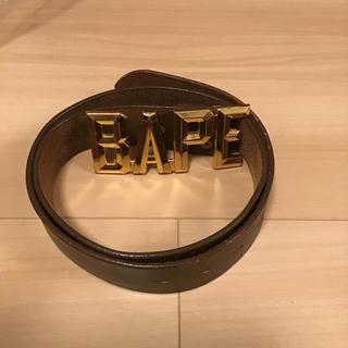 アベイシングエイプ(A BATHING APE)のa bathing apeベルト(ベルト)