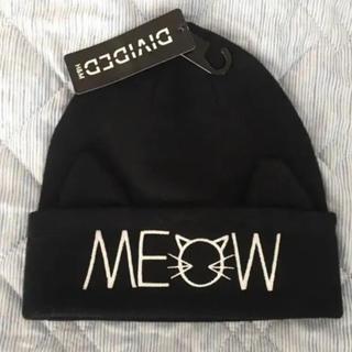 H&M - さりげなく猫耳 ニット帽♥新品