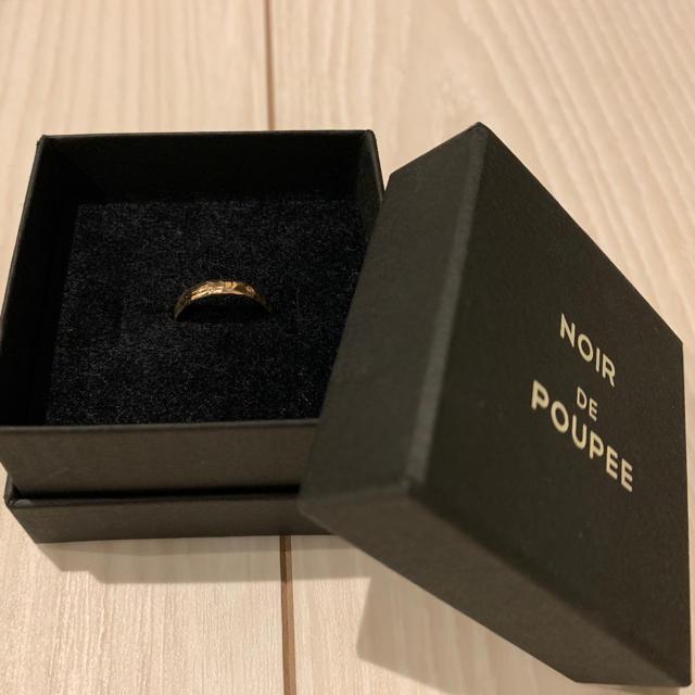 しなもん☆さま専用NOIR de POUPEE K10YGピンキーリング レディースのアクセサリー(リング(指輪))の商品写真