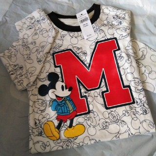 ギャップ(GAP)のGAPミッキーマウスロングTシャツ(Tシャツ/カットソー)