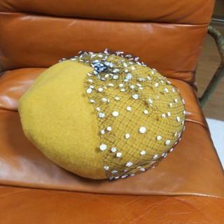 カオリノモリ(カオリノモリ)のカオリノモリ kaorinomori ベレー帽 ロマネコベレー チュール (ハンチング/ベレー帽)