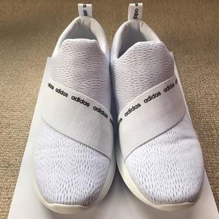 adidas - 【新品同様】adidas スリッポン 23cm / ホワイト