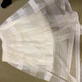 リズリサ(LIZ LISA)のLIZ LISA♡オーガンジースカート(ひざ丈スカート)