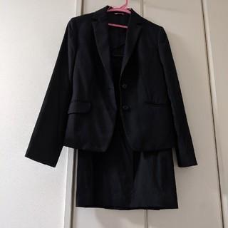 アオヤマ(青山)の就活スーツ◎レディース◎9号◎上下セット◎洋服の青山◎ブラック◎(スーツ)