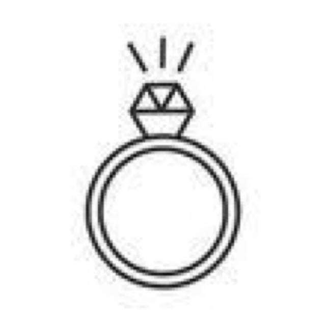 特別価格 ピンクゴールド リング3号 + 赤いハートのピアス1組(両耳用) レディースのアクセサリー(リング(指輪))の商品写真