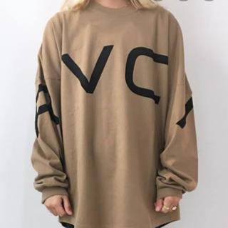 ルーカ(RVCA)のルーカ ロンT 秋冬 ベージュ レディース(Tシャツ/カットソー(七分/長袖))