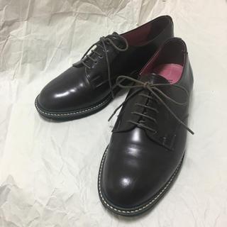 ハルタ(HARUTA)のハルタ レザー レースアップシューズ 24.5(ローファー/革靴)