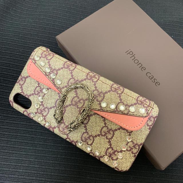Gucci - iphone xs max スマホケースの通販